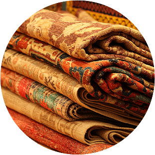 Orient offers woven art of merit that is an investment.